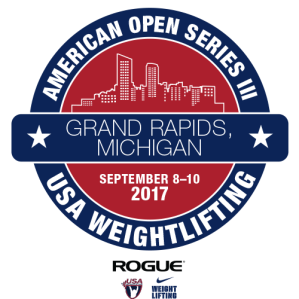 USA Weightlifting America Open logo