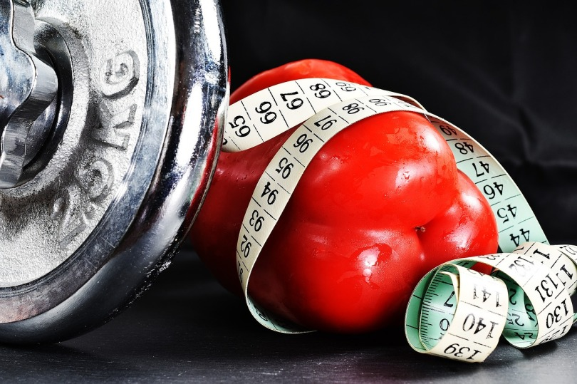 food and weights
